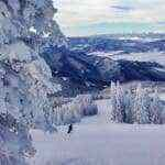 Skiing at Steamboat Resort