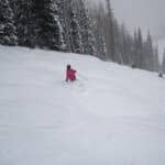 Skier at Steamboat